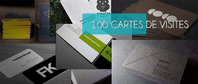 100 Cartes De Visite Originales Part 2
