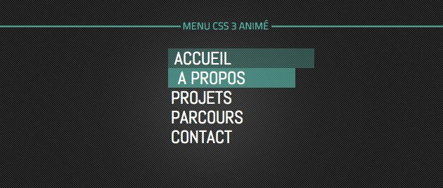 Menu Css 3 Anime Webdesignwebwebdesignweb